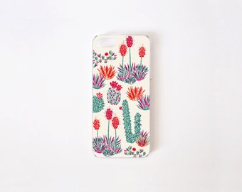 iPhone SE Case - Cactus iPhone 5 Case - iPhone 5s Case - Floral iPhone Case - Litoral Central - Flor de Chile Special Collection
