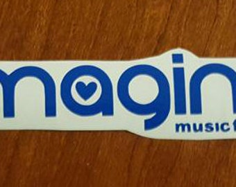 Imagine Music Festival Vinyl Sticker