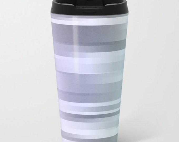 Travel Mug Metal - Coffee Travel Mug - Hot or Cold Travel Mug - 15oz Mug - Stainless Steel - Made to Order