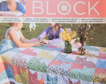 Missouri Star Quilt Co SPRING VOL 4 Issue 2 BLOCK Magazine Idea Book