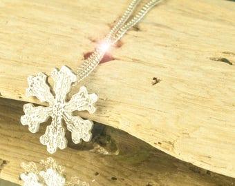 Pendant Necklace Snowflake    Frozen Necklace Silver    Frozen Silver Jewel    Snowflake Silver Jewelry Frozen Pendant Silver      