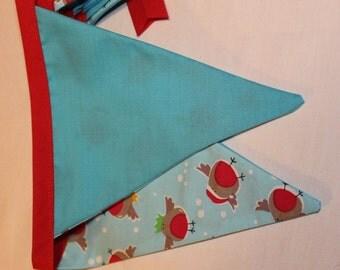 Robin Christmas bunting