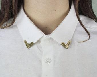 Vintage Collar clip / DIY / Malicieuse shop