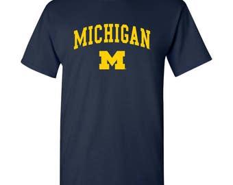 Michigan Wolverines Arch Logo T-Shirt