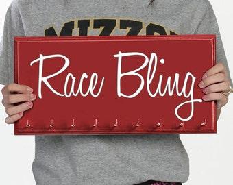 Race Medal Holder - Running Medal holder medal Display Rack - Race Bling