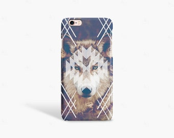 iPhone 7 Case Wolf iPhone 6 Case Wolf Vintage iPhone 5 Case Wolf iPhone SE Case Retro iPhone 6 Case Hipster iPhone 6 Case