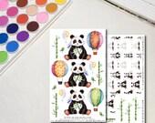 Panda Planner Sticker She...