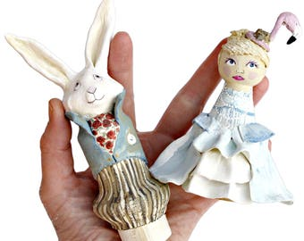wedding cake toppers alice in wonderland in cake topper etsy uk 26376
