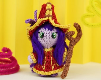 lulu amigurumi pattern league of legends au crochet. Black Bedroom Furniture Sets. Home Design Ideas