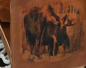 Moose Leather Journal / Diary / Sketch book