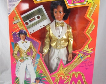 Glitter & Gold Rio Doll Jem Holograms NRFB New Hasbro 1986 Boyfriend