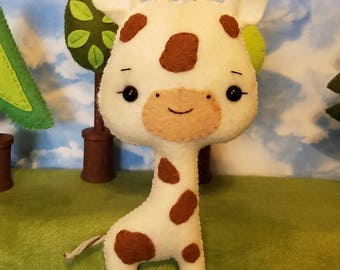 Felt Giraffe Toy
