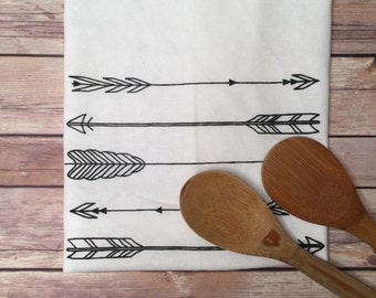 Tea Towel, Arrows, Kitchen Towel