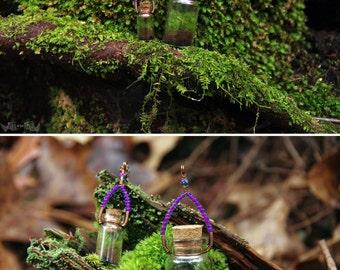 Terrarium Necklace - Orchid