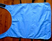 Dog Rain Vest in Blue.  S...
