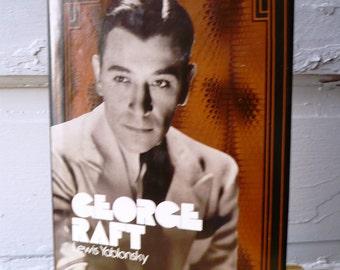 Vintage George Raft Biography 1974 Lewis Yablonsky