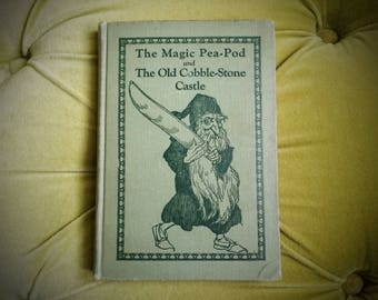 RARE Antique First Edition Books Illustrated Children's Fairytales Vintage Fantasy Book Fairies Magic Wizards 1929 Agnes Carrobine Mckenzie