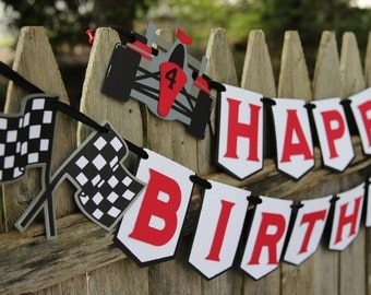 Race Car Birthday Package