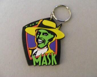 Mask Key Chain, Keychain,  Keyring, Key Holder, Key Chain, Key Ring