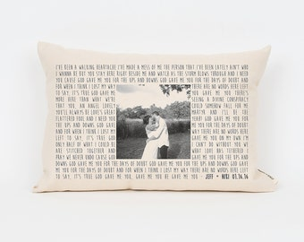 Wedding Gift For Parents Second Marriage : ... Gift, Photo Pillow, Wedding Gift Husband, Wedding Gifts for Parents
