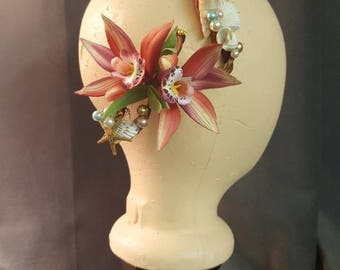 Mermaid Seashell Hair Ornament
