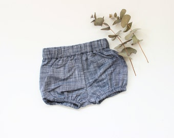 Cotton Bloomers in Chambray