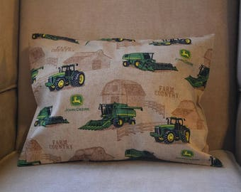 Travel Pillow Case / Child Pillow Case of the Most Famous JOHN DEERE TRACTOR!