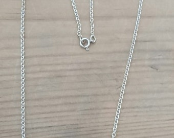 Vintage sterling silver chain