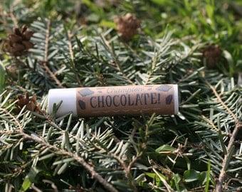 Lip Balm All Natural Beeswax Champion Chocolate Flavor Teens Tweens Girls 0.15 oz.