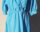 Vintage Long Sleeve Blue ...