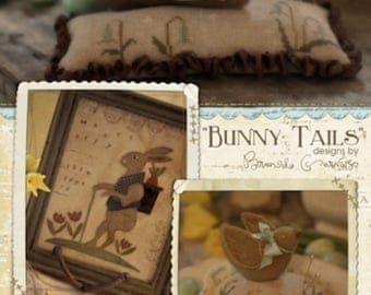 Pattern: Bunny Tails  by Brenda Gervais for Country Stitches/ With thy Needle & Thread