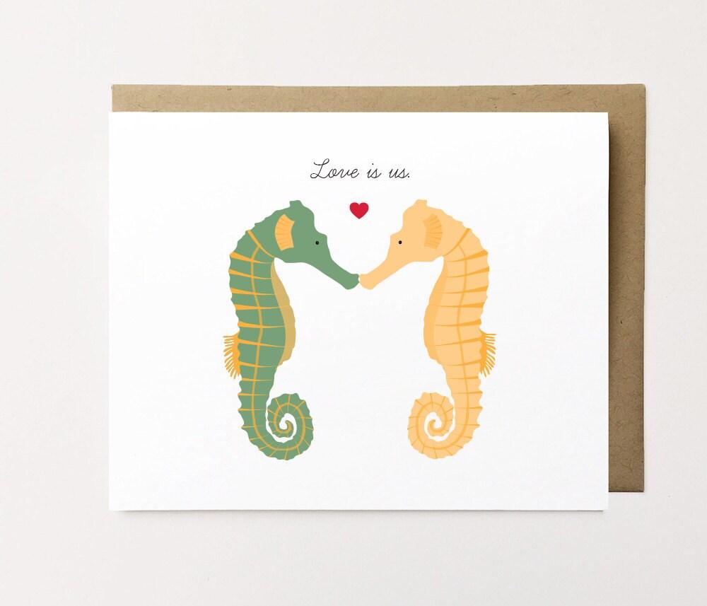 Bear Card Cute Anniversary Card Bear Lover card Polar Bear – Cute Valentines Day Cards for Him