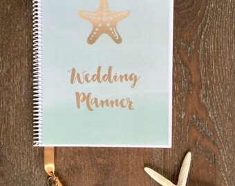 Destination Wedding Planner Book-Wedding Organizer-Engagement Gift-Wedding Planning Guide-Wedding Keepsake-Bridal Shower-Beach Wedding