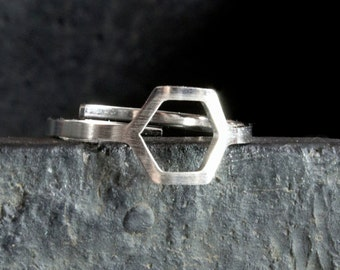 Geometric ring Hexagon