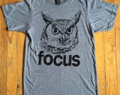 THE FOCUS OWL / owl shirt...
