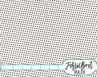BLACK AND WHITE Small Polka Dot Fabric by the Yard Fat Quarter Black Dots Fabric 100% Cotton Quilting Fabric Apparel Fabric Yardage a4-17