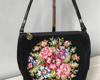 Vintage Feiler Handbag Retro Feiler Germany Shoulder Bag Vintage Bag
