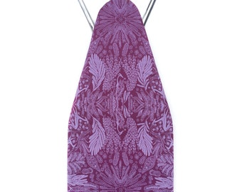 Adeline Padded Ironing Board Cover in Plum