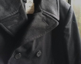 Authentic Vintage DSCP by Sterlingwear Men's Peacoat
