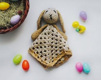 Baby Bunny Blanket - Bunny Baby Blanket - Baby Bunny Lovey - Bunny Baby Lovey Blanket - Rabbit Blanket - Rabbit Baby Gift - Easter Gift