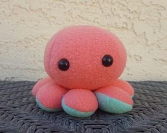 Octopus Plush - Super Cute Kawaii Custom Colored Baby Octopus