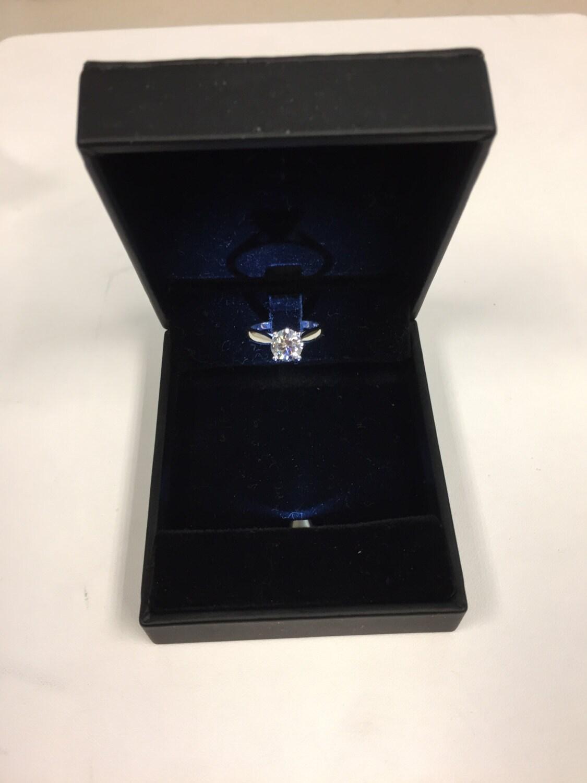 Pocket slim led lighted ring box for Slim engagement ring box