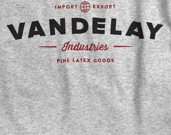 Vandelay Industries T-shirt - Vintage Style Logo Shirt - Small - 5xl - Unisex