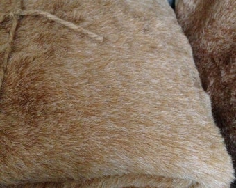 Faux Fur Fabric - 1 Yard - Bear Fur Fabric, Bunny Fur Fabric,