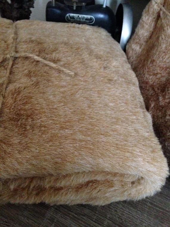 Faux Fur Fabric - 1 Yard - Bear Fur Fabric, Bunny Fur Fabric,