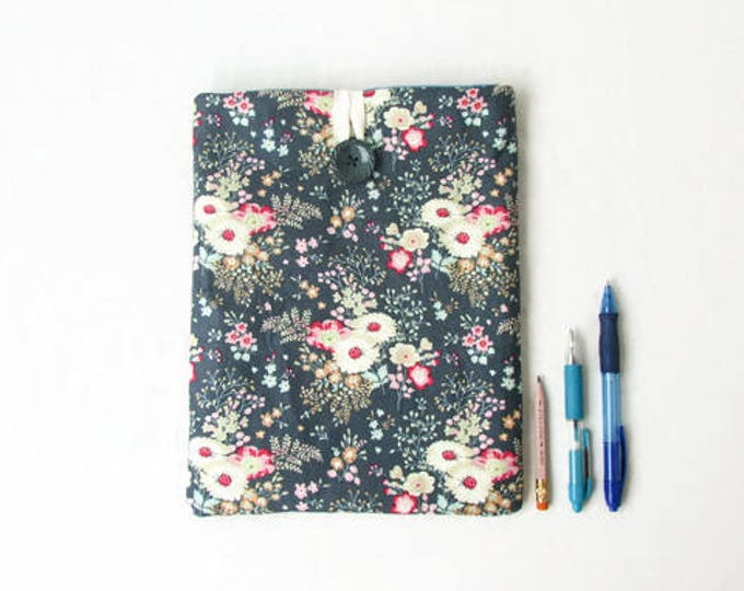 Featured listing image: Floral IPad case, 10 inch tablet case, handmade in the UK