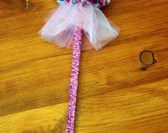 Abby Cadabby Inspired fairy wand