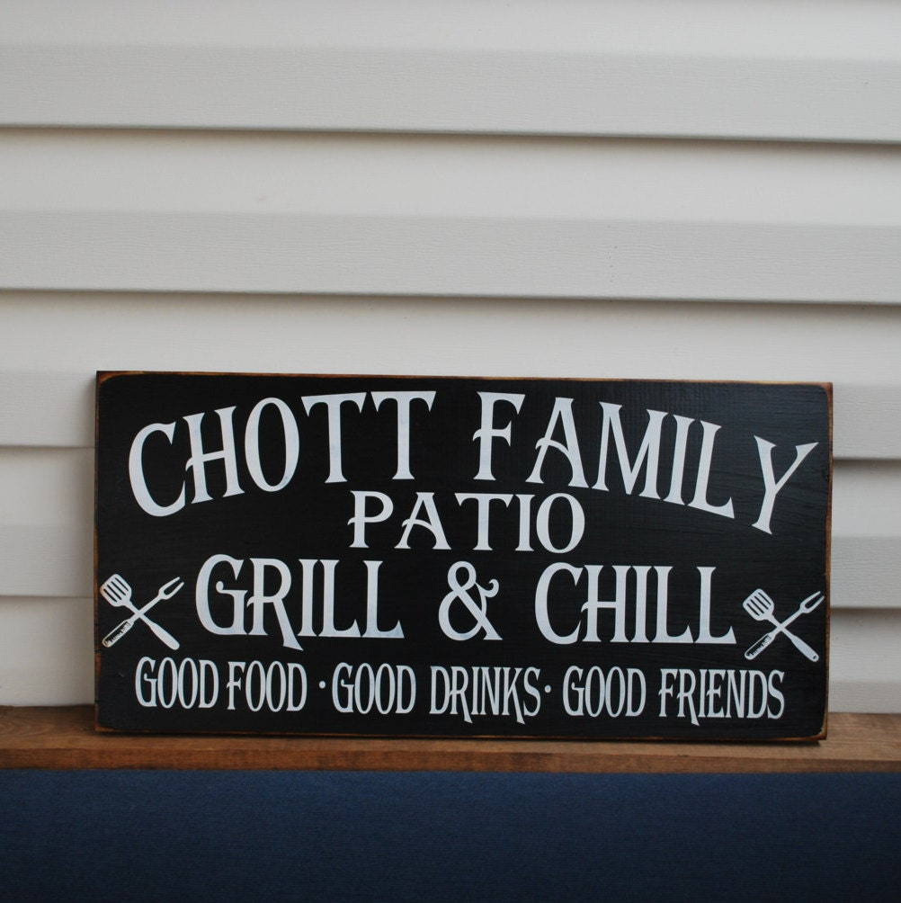 Patio Rules Outdoor Sign: Porch Rules Sign-Porch Signs-Outdoor Sign Patio Rules Sign
