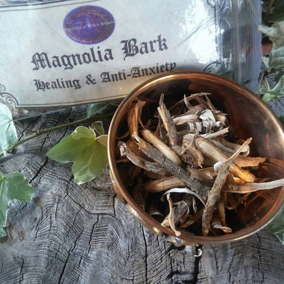 Magnolia Bark - Wood Bark - Healing - Anti Anxiety - Magnolia Wood Bark