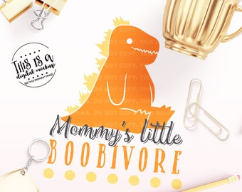 Boobivore SVG, Breastfeeding Cut File, Breastfeeding svg, New Baby svg, Baby Boy svg, eps, dxf, png Cut Files for Silhouette  for Cricut